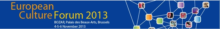 European Culture Forum 2013
