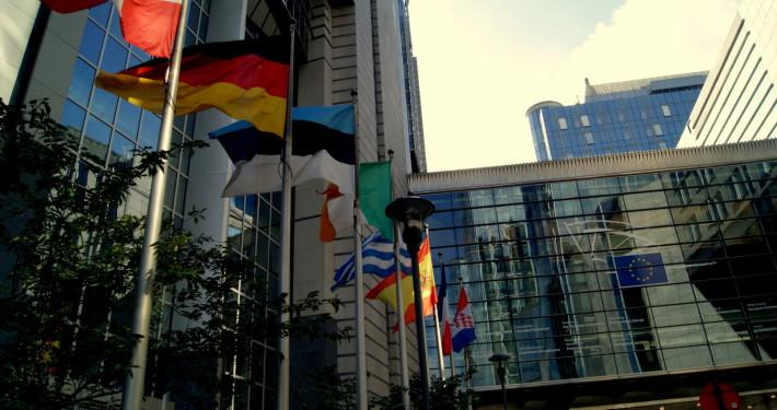 Europaparlamentet i Brussel. Foto: Vest-Norges Brusselkontor.