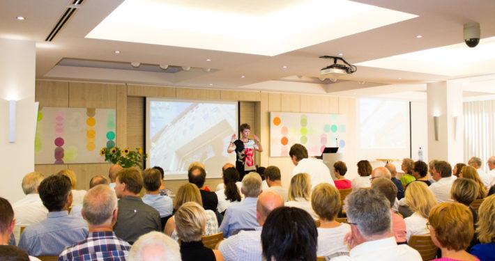VNBs direktør Merete Mikkelsen ønsker velkommen. Foto: Osloregionens Europakontor
